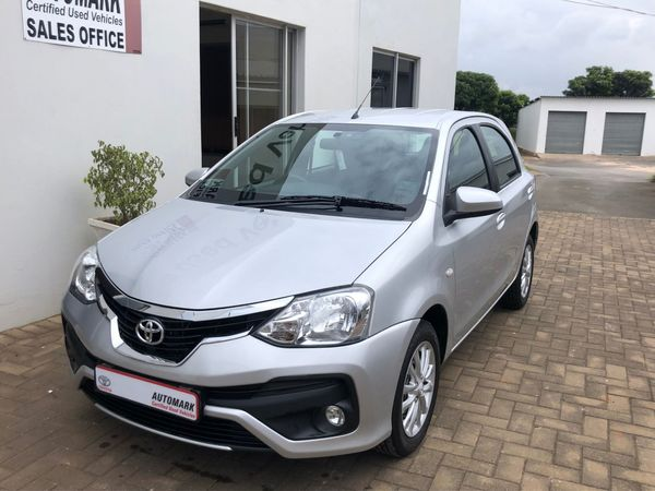 2018 Toyota Etios 1.5 Xs  Kwazulu Natal Eshowe_0