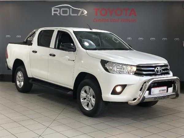2018 Toyota Hilux 2.4 GD-6 RB SRX Double Cab Bakkie Western Cape Somerset West_0