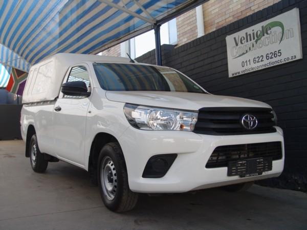 2018 Toyota Hilux 2.0 VVTi AC Single Cab Bakkie Gauteng Johannesburg_0