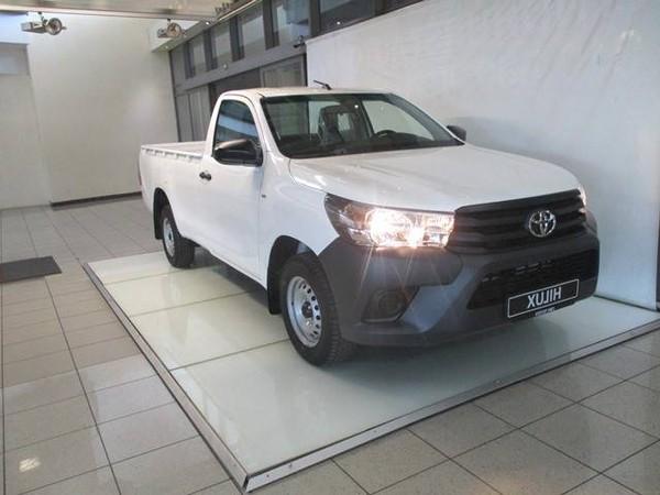2019 Toyota Hilux 2.4 GD AC Single Cab Bakkie Gauteng Alberton_0