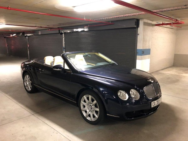 2007 Bentley Continental Gt Convertible  Western Cape Cape Town_0