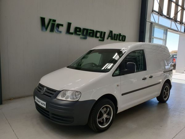 2008 Volkswagen Caddy 1.9 Tdi Fc Pv  Gauteng Vereeniging_0