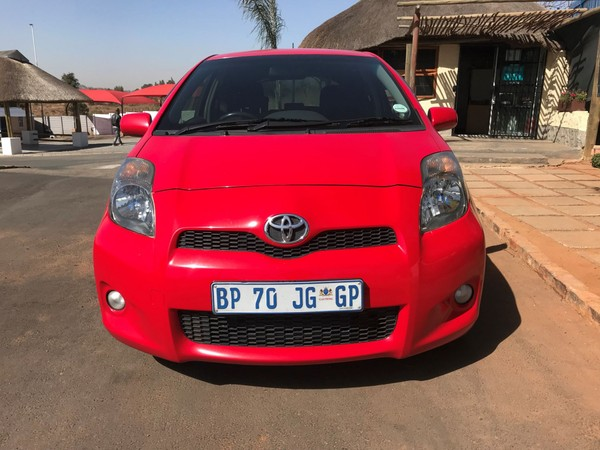 2009 Toyota Yaris Ts 1.8 3dr  Gauteng Waterkloof_0