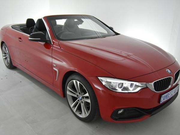 2014 BMW 4 Series 420i Convertible Sport Line Auto Gauteng Pretoria_0