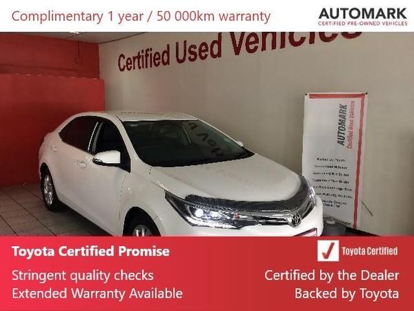 2019 Toyota Corolla 1.8 Exclusive CVT Gauteng Springs_0