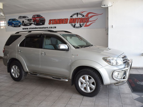 2010 Toyota Fortuner 3.0d-4d Rb At  Gauteng Nigel_0