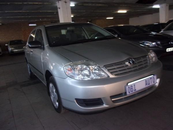 2006 Toyota Corolla 140i  Gauteng Johannesburg_0