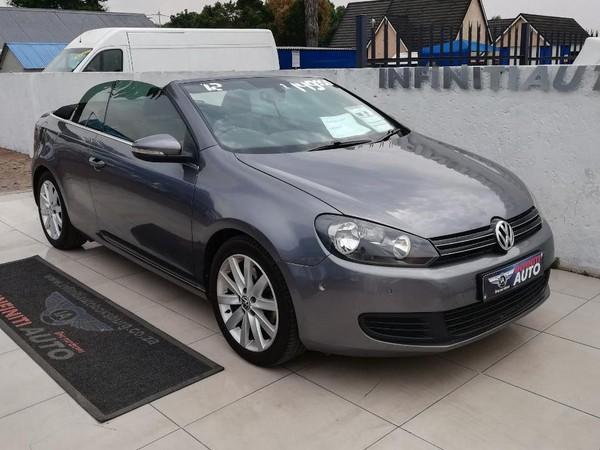 2012 Volkswagen Golf Vi 1.4 Tsi Dsg Cabrio 118kw Hline  Gauteng Boksburg_0