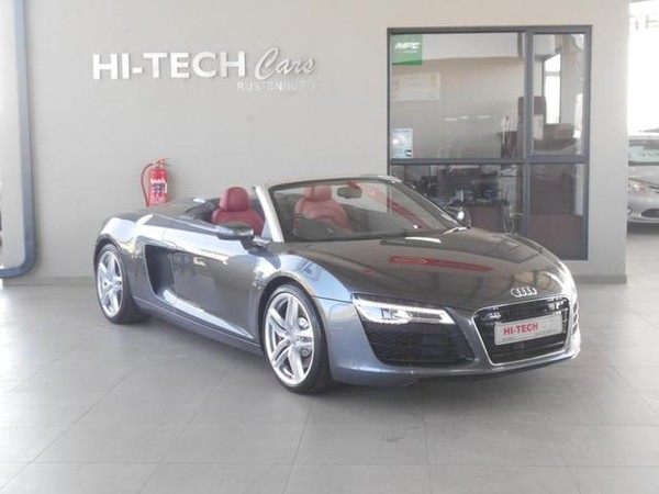 2015 Audi R8 4.2 FSi Quattro Spyder S Tronic with 21000kms North West Province Rustenburg_0