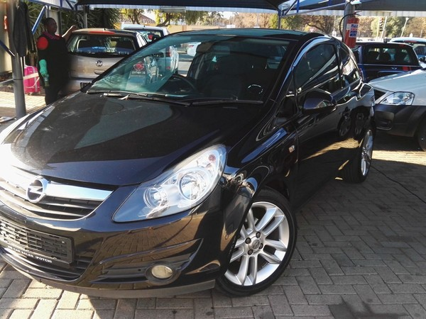 2008 Opel Corsa 1.4 Sport 3dr North West Province Potchefstroom_0