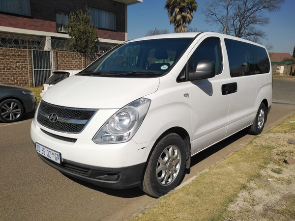 2014 Hyundai H1 2.5 Crdi Ac Fc Pv At  Gauteng Boksburg_0