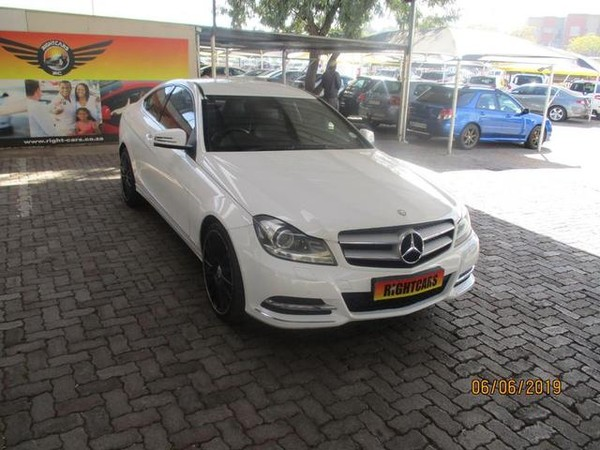2012 Mercedes-Benz C-Class C180 Be Coupe At  Gauteng North Riding_0