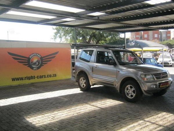 2000 Mitsubishi Pajero 3200 Di-d 3dr  Gauteng North Riding_0