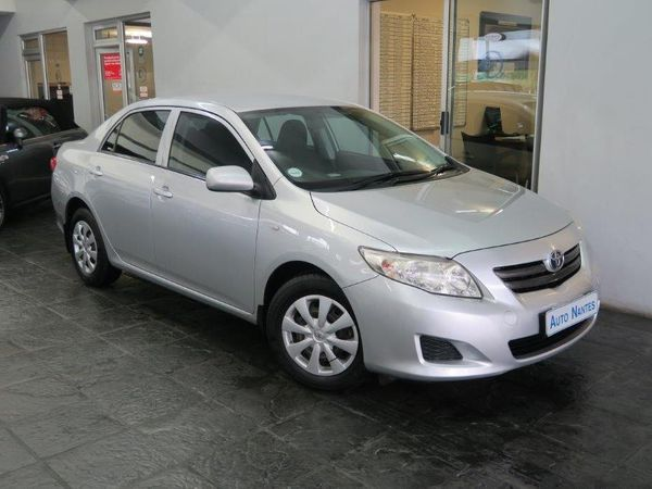2010 Toyota Corolla 1.3 Professional  Western Cape Paarl_0