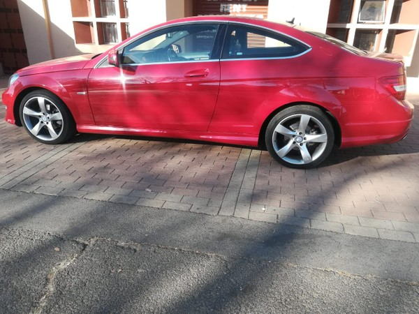 2014 Mercedes-Benz C-Class C180 Be Coupe At  Gauteng Rosettenville_0