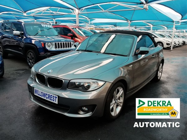 2013 BMW 1 Series 125i Convertible At  Gauteng Randburg_0