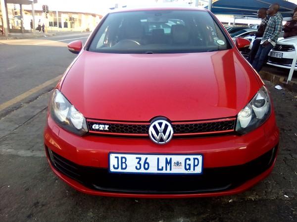 2011 Volkswagen Golf Gti 2.0t Fsi Dsg  Gauteng Kempton Park_0