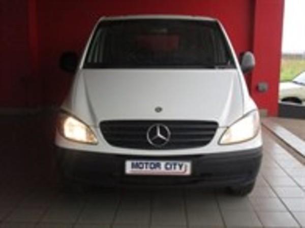 2005 Mercedes-Benz Vito 115 2.2 Cdi Crew Cab Fc Pv  Mpumalanga Middelburg_0