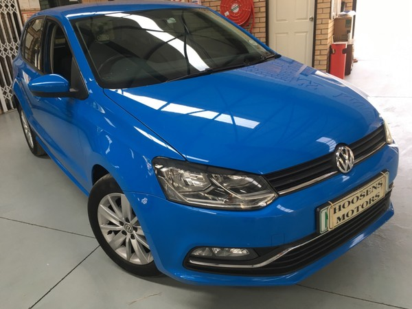 2014 Volkswagen Polo 1.2 TSI confortline manual 66KW Free State Villiers_0