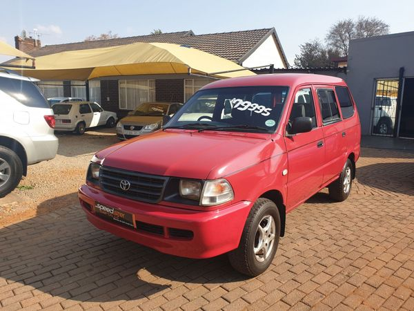 2003 Toyota Condor 1800  Gauteng Boksburg_0