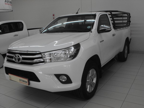 2017 Toyota Hilux 2.8 GD-6 Raider 4x4 Single Cab Bakkie Mpumalanga Standerton_0