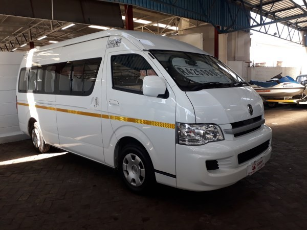 2019 Jinbei Haise H2 2.4i 16-Seat Western Cape Goodwood_0