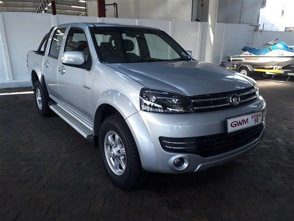 2019 GWM Steed STEED 5E 2.4 XSCAPE Double Cab Bakkie Western Cape Goodwood_0