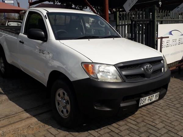 2007 Toyota Hilux 2.7vvt-i Srx 4x4 Pu Sc  Mpumalanga Nelspruit_0