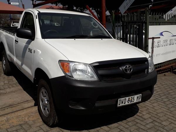 2008 Toyota Hilux 2.7vvt-i Srx 4x4 Pu Sc  Mpumalanga Nelspruit_0