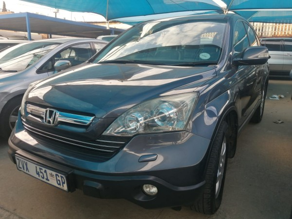 2009 Honda CR-V 2.4 Vtec Rvsi At  Gauteng Rosettenville_0