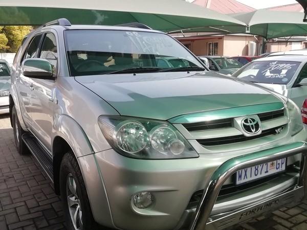 2008 Toyota Fortuner 4.0 V6 4x4  Gauteng Boksburg_0