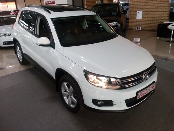 2015 Volkswagen Tiguan 1.4 Tsi Bmot Tren-fun 118kw  Kwazulu Natal Pietermaritzburg_0