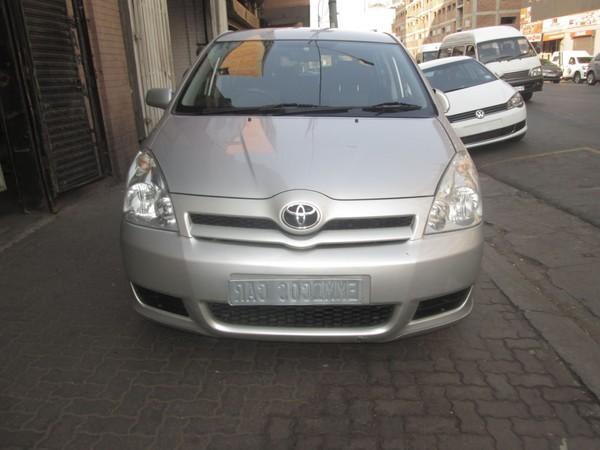 2009 Toyota Verso 160  Gauteng Johannesburg_0