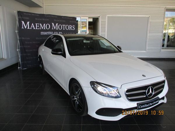 2016 Mercedes-Benz E-Class E 220d Avantgarde North West Province Rustenburg_0