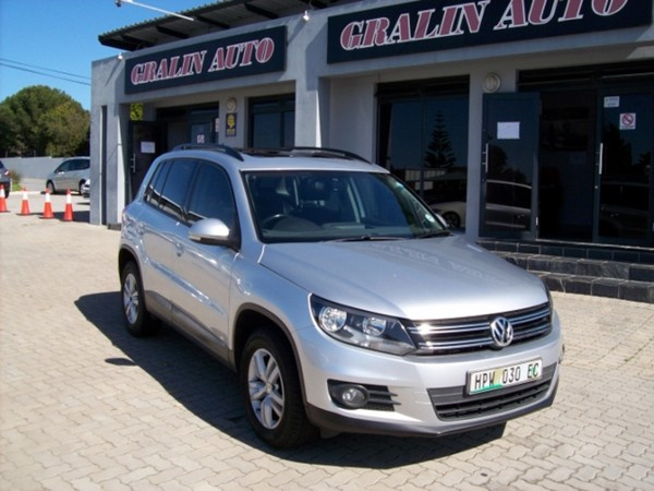 2011 Volkswagen Tiguan 1.4 Tsi Bmot Tren-fun 118kw  Eastern Cape Port Elizabeth_0