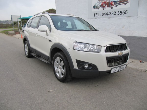 2012 Chevrolet Captiva 2.4 Lt At  Western Cape_0