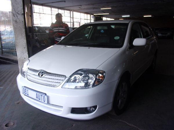 2007 Toyota Corolla 160i Gsx  Gauteng Johannesburg_0