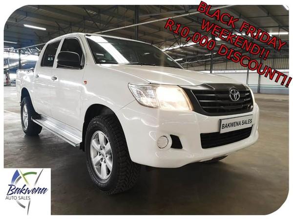 2013 Toyota Hilux 2.5d-4d Srx 4x4 Pu Dc  Gauteng Karenpark_0