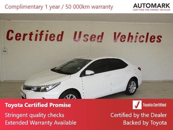2019 Toyota Corolla 1.6 Prestige Free State Bothaville_0