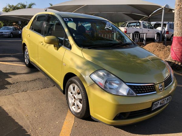 2007 Nissan Tiida 1.6 Acenta MT Sedan Gauteng Boksburg_0