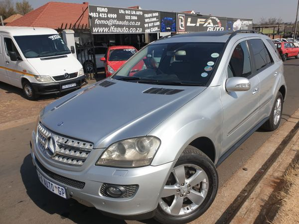 2006 Mercedes-Benz M-Class Ml 500 At  Gauteng Kempton Park_0