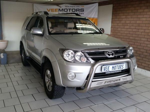 2008 Toyota Fortuner 4.0 V6 At 4x4  Gauteng Edenvale_0