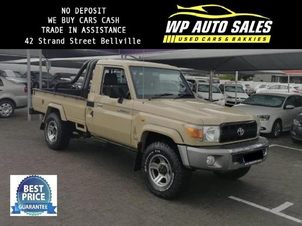 2012 Toyota Land Cruiser 79 4.0p Pu Sc  Western Cape Bellville_0