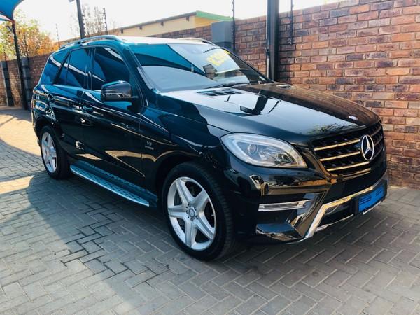 2013 Mercedes-Benz M-Class Ml 500 Be  Gauteng Pretoria_0