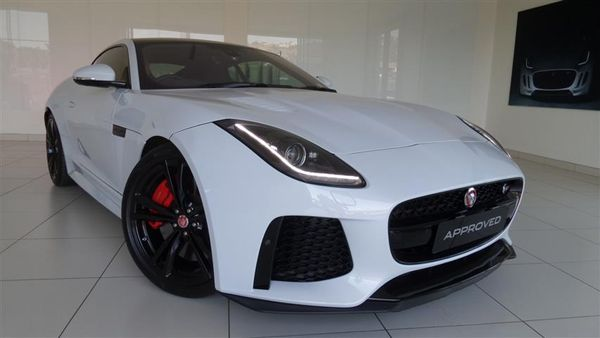 2017 Jaguar F-TYPE 5.0 V8 SC SVR Coupe AWD Gauteng Roodepoort_0