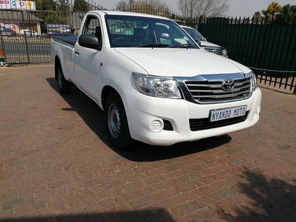 2015 Toyota Hilux 2.0 Vvti Pu Sc  Gauteng Bramley_0