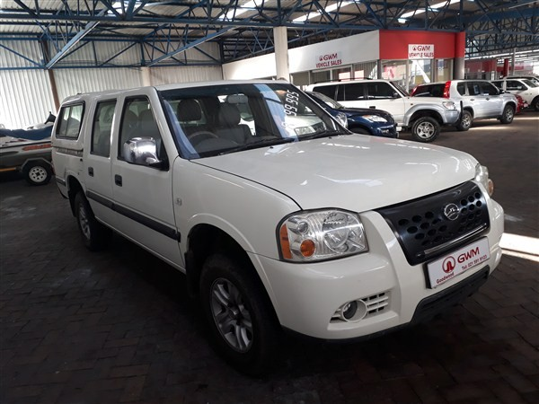 2011 GWM Double Cab 2.2i Anniversary Edition Pu Dc  Western Cape Goodwood_0