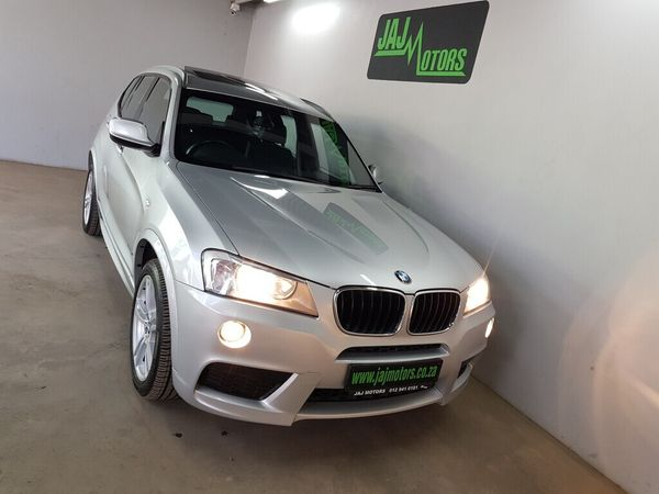 2012 BMW X3 Xdrive20i  M-sport At  Gauteng Pretoria_0