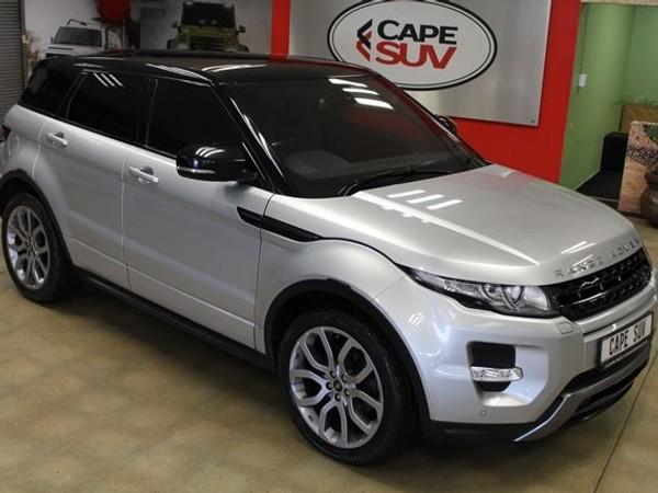 2013 Land Rover Evoque 2.2 Sd4 Dynamic  Western Cape Brackenfell_0