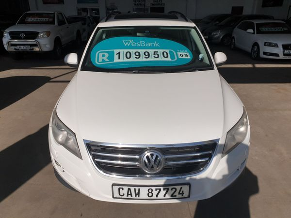 2009 Volkswagen Tiguan 2.0 Tdi Trk-fld 4mot Tip  Western Cape George_0